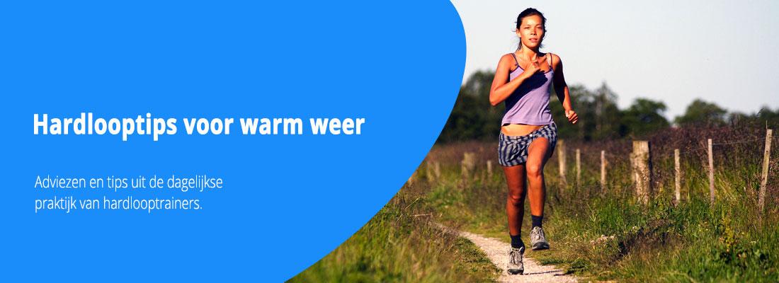 hardlooptips voor warm weer